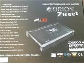 ORION 2000 WATT 4 CHANNEL CAR AMP ZO2000.4
